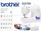 BROTHER GS2700
